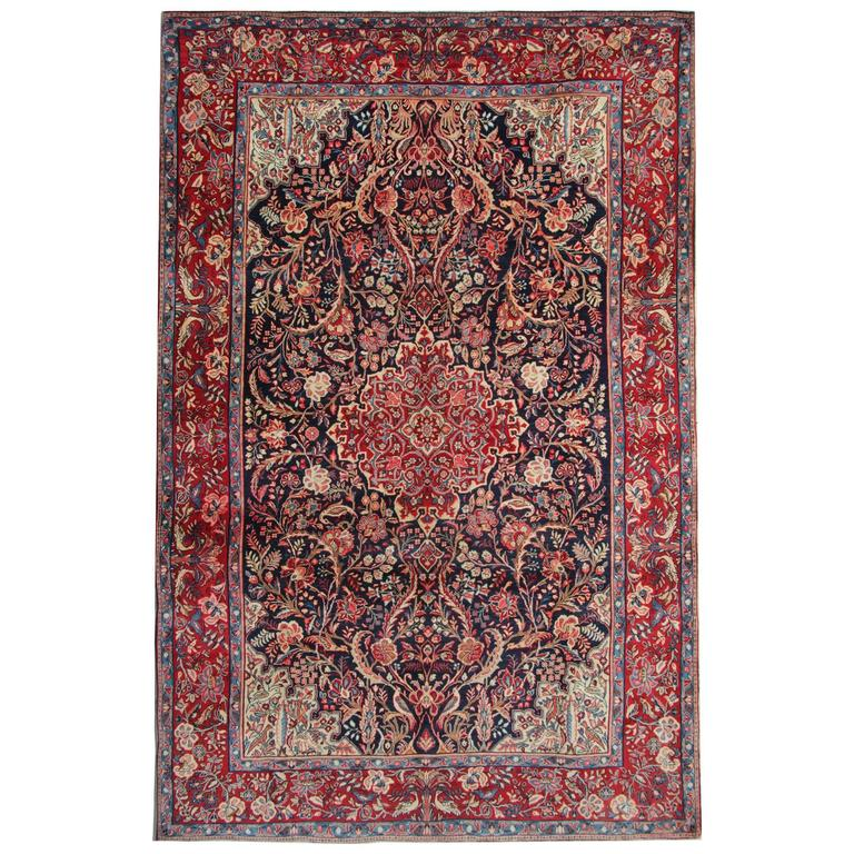 magnificent antique rugs, pazyryk persian rugs, carpet from semnan Antique Rugs