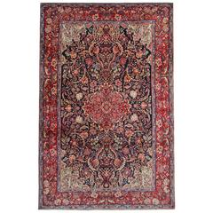 Magnificent Antique Rugs, Persian Carpet from Sarouq