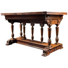 16th Century French Renaissance Formal Table Said 'à l'italienne'