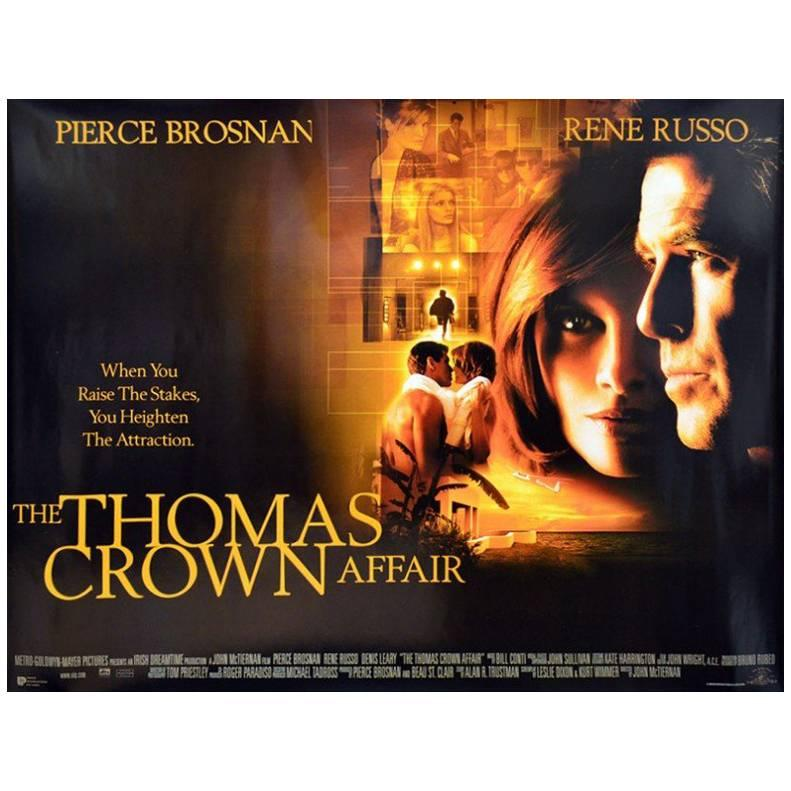 """The Thomas Crown Affair"" Film Poster, 1999"