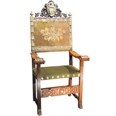 Spanish Formal Chair from the Duke of Osuna Family