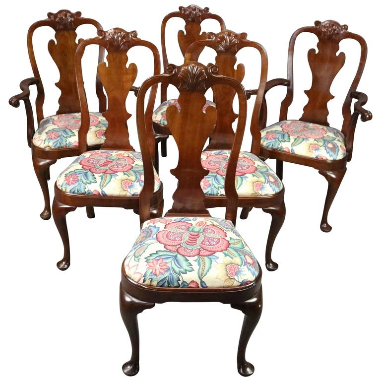 Set Of Six L And J G Stickley Cherry Valley Collection