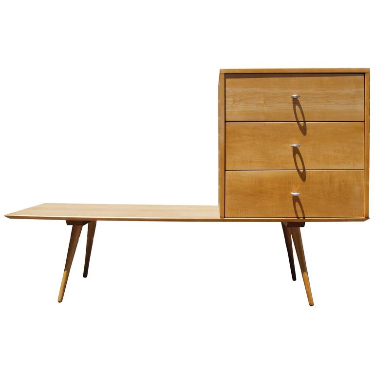 Planner Group Three-Drawer Chest on Low Table by Paul McCobb for Winchendon