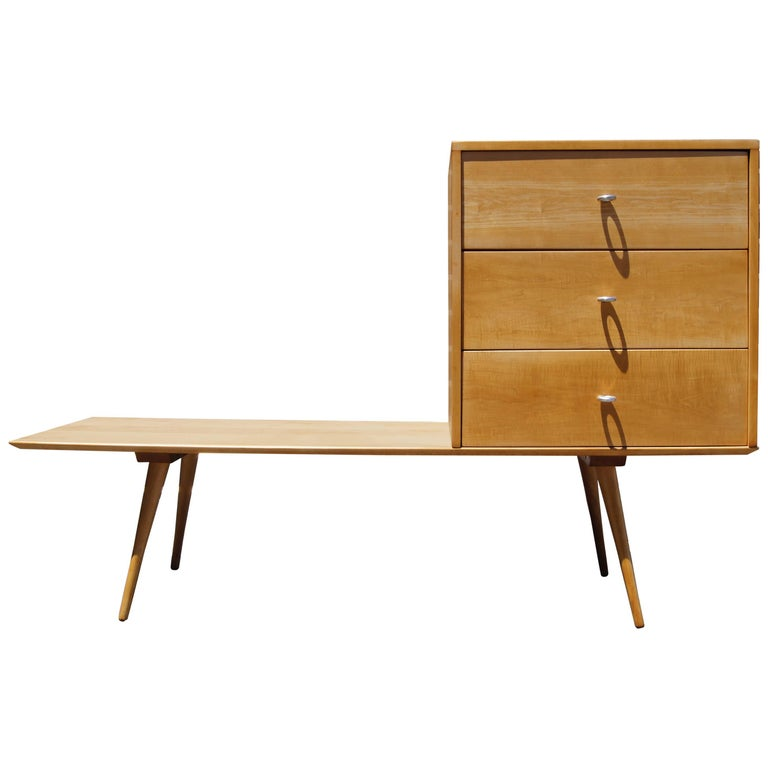 Planner Group Three-Drawer Chest on Low Table by Paul McCobb for Winchendon  For Sale