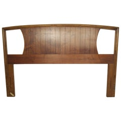 Mid-Century Walnut Headboard