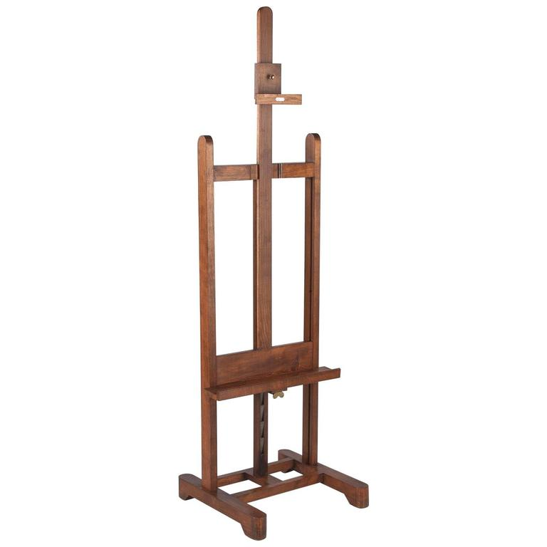 French Art Easel by Lefranc, Paris, 1900s 1
