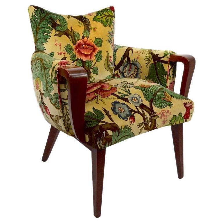 Stylish Art Deco Accent Chair