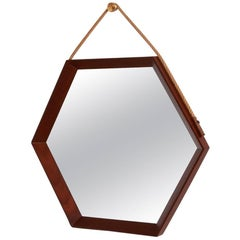 Danish Hexagonal Mirror