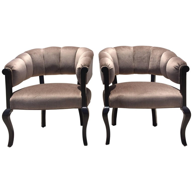 Beautiful Channel Back Chairs For Sale