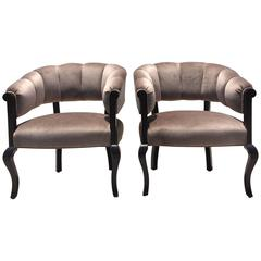 Beautiful Channel Back Chairs