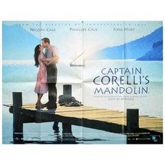 """Captain Corelli's Mandolin"" Film Poster, 2001"