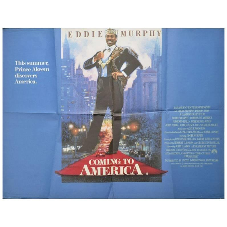 """Coming to America"", Poster, 1988"