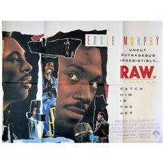 """Eddie Murphy Raw"" Film Poster, 1987"