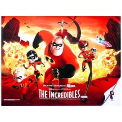 """""""The Incredibles"""", Film Poster, 2004"""