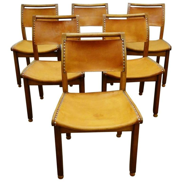 John Makepeace Workshops set of six vintage modernist chairs, circa 1980s