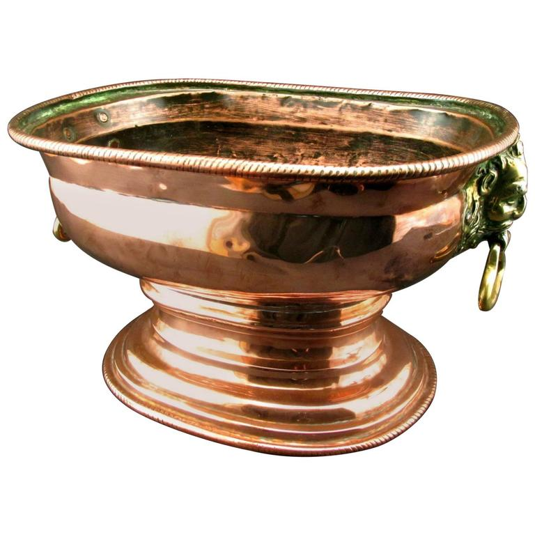 18th Century Copper Wine Cistern / Cooler, Netherlands Circa 1750
