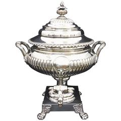 19th Century Regency Sheffield Plate Samovar