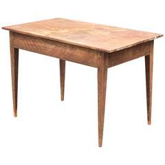 18th Century Swedish Folk Art Table