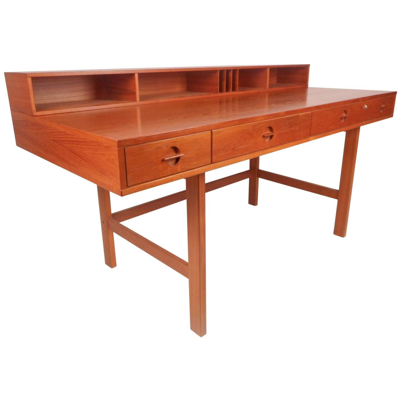 Wahl Iversen Attributed Flip Desk In Teak In 2018 AZ Mid