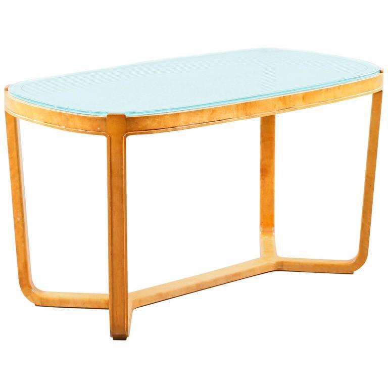Art Deco Coffee Table Brisbane: Nordic Art Deco Coffee Table By Bodafors Svenska For Sale