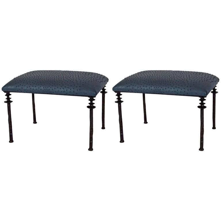 Pair of Sorgue Stools 1