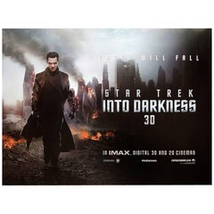 """Star Trek Into Darkness"" Film Poster, 2013"