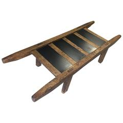 16th Century Oak Hog Carrier, This Also Belonged to Actress Jean Simmons