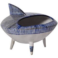 """Tiburon"" Handmade Ceramic by Viviana Araya"