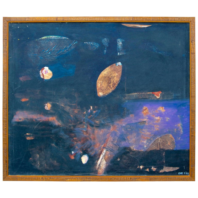 Louise Odes Neaderland Abstract, 1969 For Sale