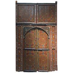 Moroccan Antique Double Door