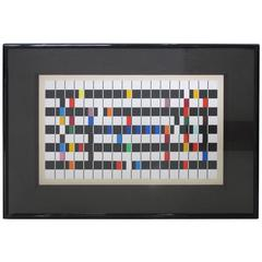 Signed Color Serigraph by Yaacov Agam, circa 1980s Titled One and Another