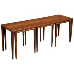 Vintage DUX Coffee Table with Nesting Tables
