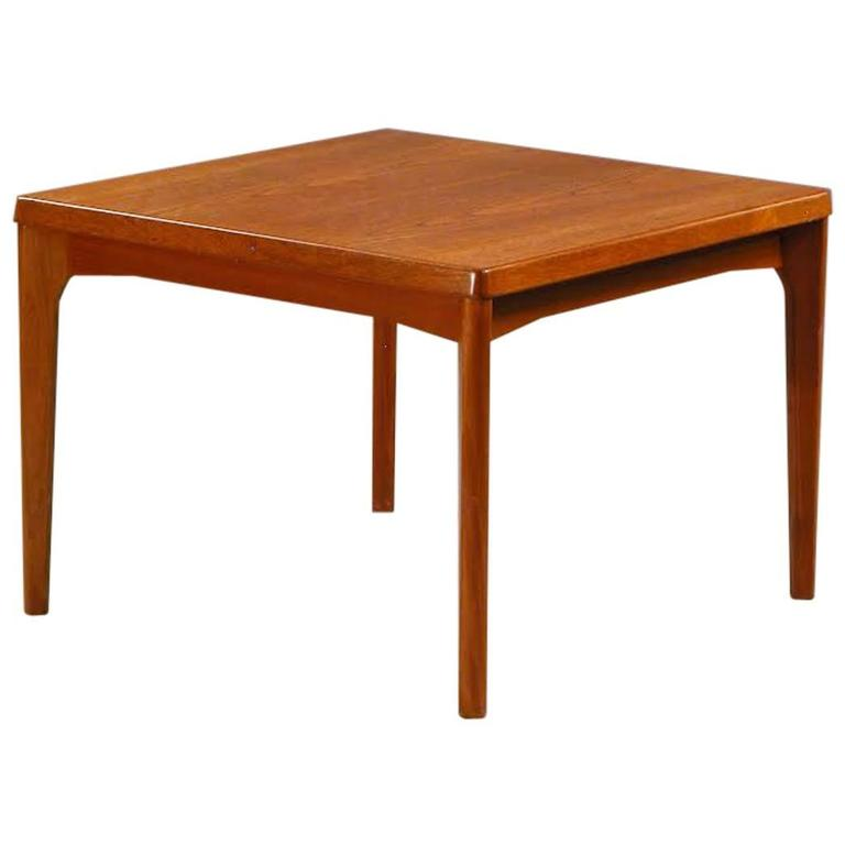 1960s Henning Kjærnulf Teak Side Table for Vejle Møbelfabrik