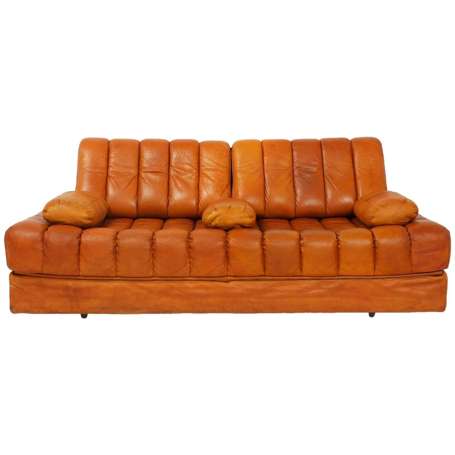 Convertible Sofa Bed by de Sede For Sale at 1stdibs
