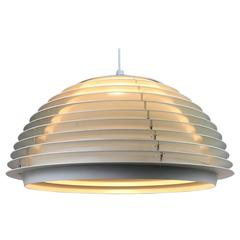 White Ceiling Pendant by Fog Morup, Denmark. Scandinavian Modernism from 1960s.