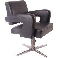 "Jacques ADNET model ""PRESIDENT"" Executive armchair  similar to Prouvé's model"
