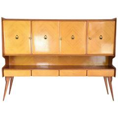 Italian Mid-Century Buffet in the Manner of Ico Parisi, 1950's