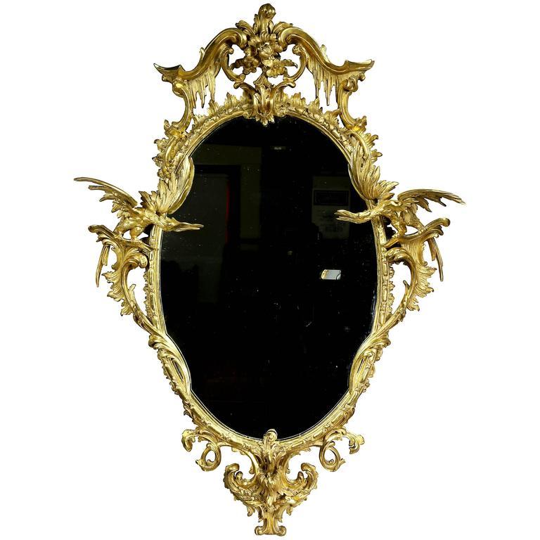 Fine George III Giltwood Mirror