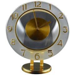Bayard French Art Deco 8 Day Clock Late, 1930s