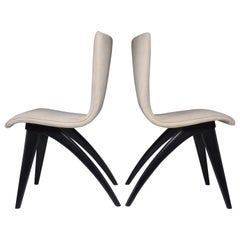 Midcentury Scandinavian Dining Chairs, Set of Four, 1950s