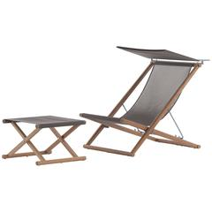 Roda Orson Foldable Deck Chair for Outdoor Use