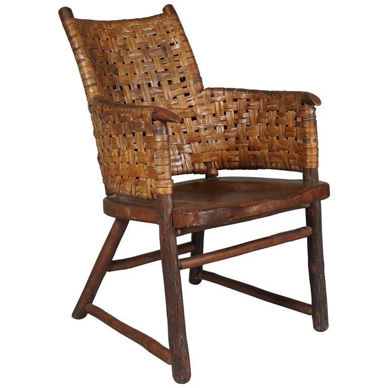 """Old Hickory Fruniture Co."" Armchair 1"