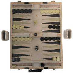 Modern Pierre Cardin Backgammon Game Set, 1970s