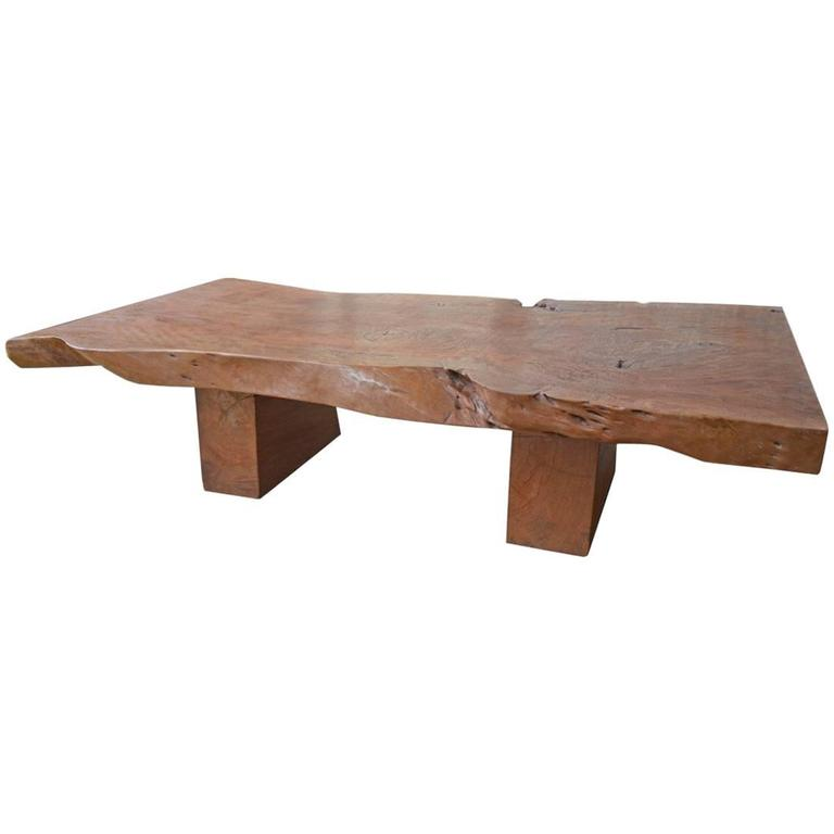 Andrianna Shamaris Live Edge Coffee Table