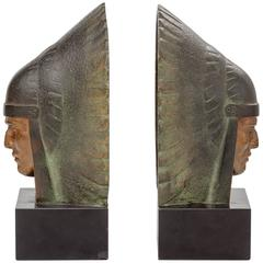French Art Deco Bookends by George Garreau