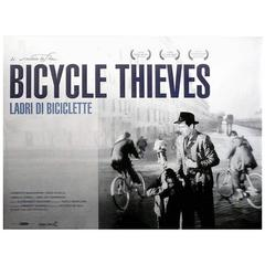 """""""Bicycle Thieves"""" Film Poster, 1948"""