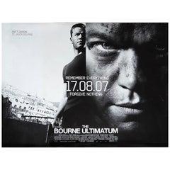 """The Bourne Ultimatum"" Film Poster, 2007"