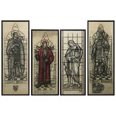 Burne Jones Style Cartoons Designed by Arthur Buss Made by Godard and Gibbs