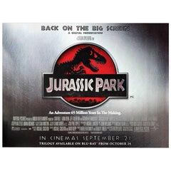 """""""Jurassic Park"""" Film Poster, 2011"""
