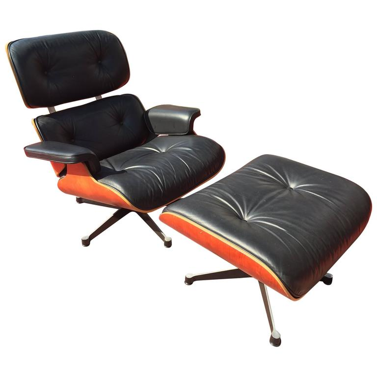 charles eames lounge chair and ottoman vitra edition at. Black Bedroom Furniture Sets. Home Design Ideas